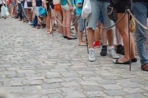 Wimbledon tickets queue