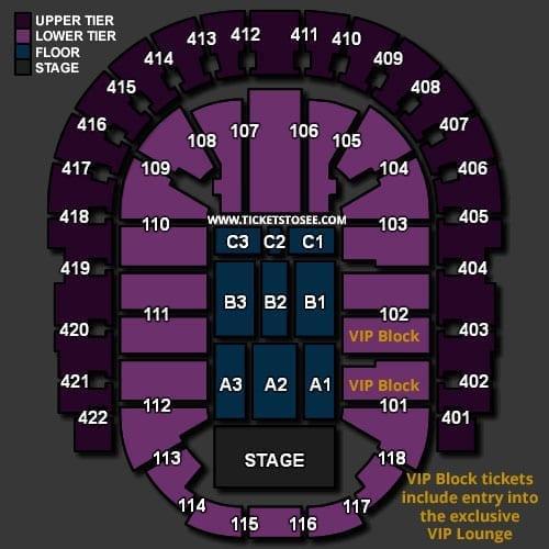 o2 seating plan