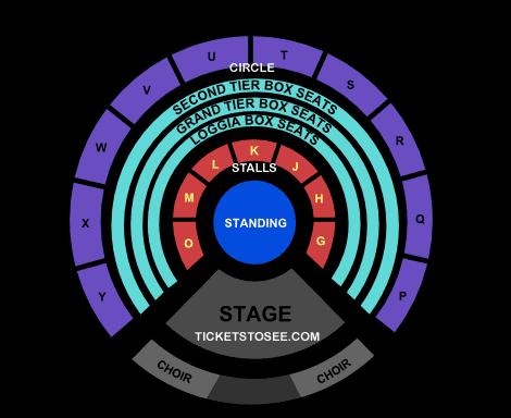 Royal Albert Hall BBC Proms Seating Plan