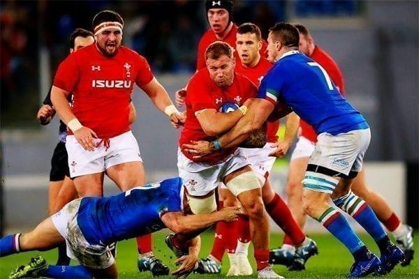 Italy v Wales, Saturday 13th March 2021