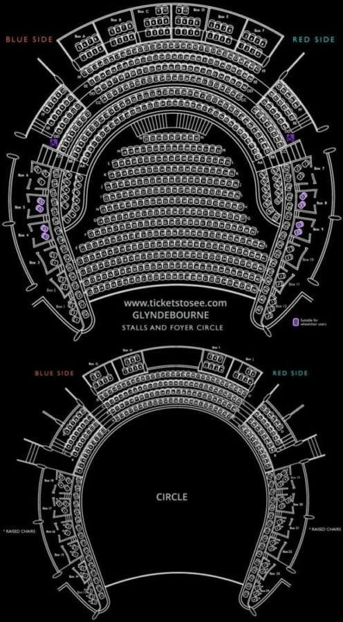 Glyndebourne Seating Plan