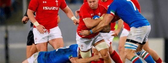 Wales v Italy Rugby