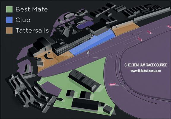 Cheltenham Festival Sitemap