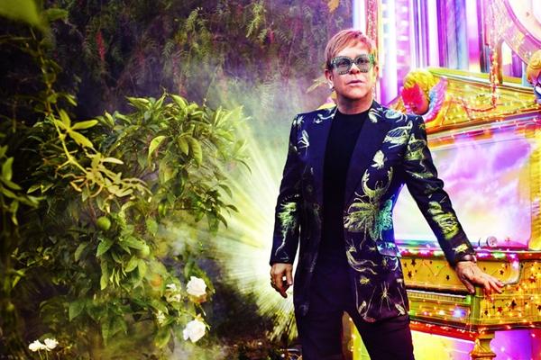 Elton John Saturday 7 November 2020 O2 London