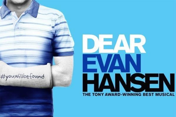 Tickets to see Dear Evan Hansen