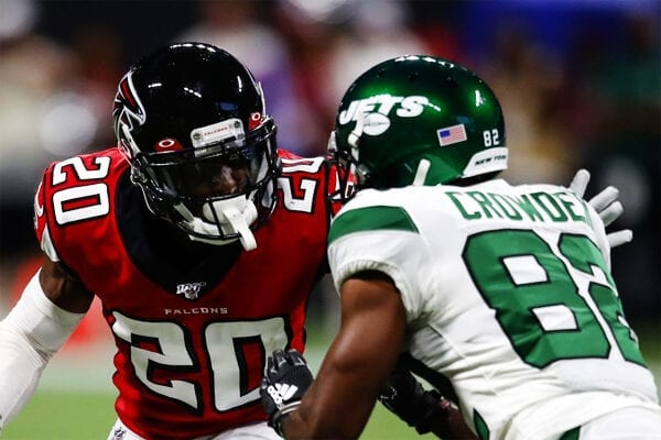 The Atlanta Falcons v New York Jets